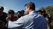 Mitsotakis refers to infuriating conditions at Samos hotspot