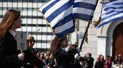 Greek Independence Day commemorated with annual military parade through downtown Athens