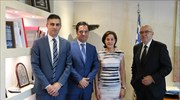 New Development-Investments Minister Georgiadis meets with Israeli Amb. Ben-Abba