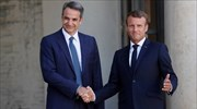 Macron support to Athens; Mitsotakis received by French leader in Paris