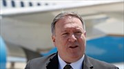 Pompeo in Athens over the weekend; defense tops Greek side