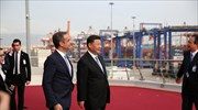 Xi tours Cosco-managed Piraeus Port Authority, the biggest Chinese investment in Greece