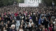 Annual Polytechnic commemoration march through Athens; scattered rioting