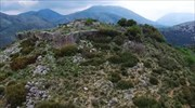 The traditional settlement of Plesio, in extreme NW Greece