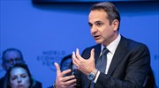 Mitsotakis from Davos: Emphasis on FDIs; points to Turkish provocations in east Med