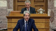 EU Commissioner Gentiloni expresses favorable position on prospect of lower Greece