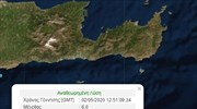 Strong quake recorded south of Crete
